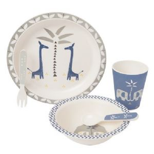 Fresk - Bamboo Dinner Set - Giraffe